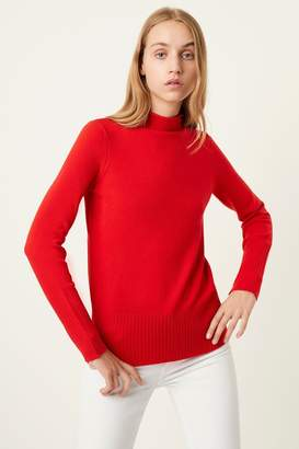 French Connection Womens Red Jumper - Red