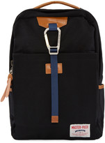 Master-piece Co Black Buckle Backpack