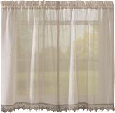 Asstd National Brand Leanne Rod-Pocket Window Tiers