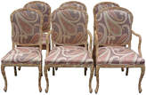 One Kings Lane Vintage Hickory Hand-Carved Dining Chairs