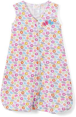 Sweet & Soft Girls' Infant Sleeping Sacks - Pink & Blue Butterflies Wearable Blanket - Newborn & Infant
