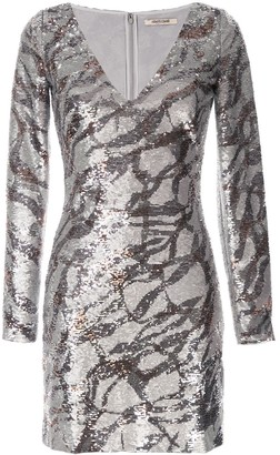 Roberto Cavalli Sequinned Bodycon Dress