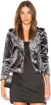 Blank NYC BLANKNYC Velvet Moto Jacket