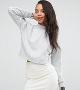 Puma Exclusive To ASOS Cropped Logo Hem Sweatshirt