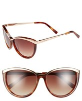 Lilly Pulitzer 'Mittie' 56mm Cat Eye Sunglasses
