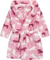 Hatley Fairy tale horses dressing gown s-xl