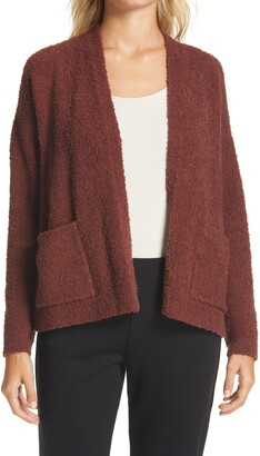 Eileen Fisher Boxy Boucle Cardigan