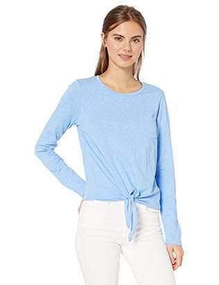 J.Crew Mercantile Women's Long Sleeve Tie Waist T-Shirt