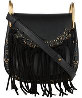 Chloé Hudson small suede-tassel leather cross-body bag
