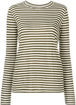 Vince striped fitted top