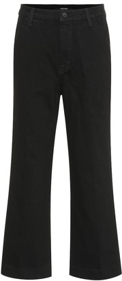 J Brand Joan high-rise cropped jeans
