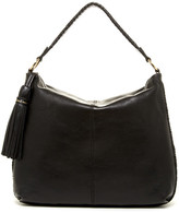 Cole Haan Adalee Leather Tassel Hobo