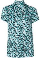 MICHAEL Michael Kors floral-print tie-neck blouse