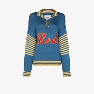Bode Namesake logo applique sweater