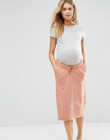 Asos Casual Sweat Drawstring Skirt