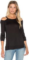 Lanston Cutout Shoulder Top