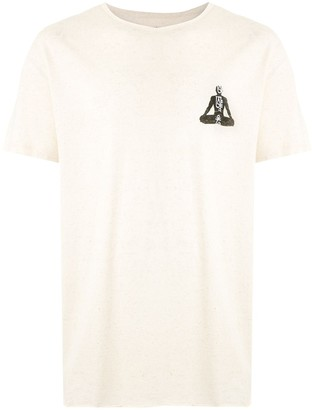 OSKLEN Yogue print hemp T-shirt