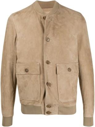 Salvatore Santoro Buttoned Leather Jacket