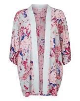 Junarose Floral Print Kimono Cover Up