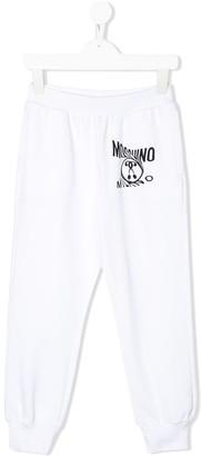 MOSCHINO BAMBINO Twisted Logo Joggers