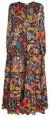 Rixo Floral Lori Maxi Dress