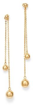 Bloomingdale's Bead Drop Earrings in 14K Yellow Gold - 100% Exclusive