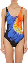 Onia Women's Kelly Feather-Print One-Piece Swimsuit