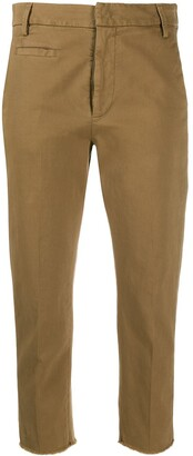 Dondup Cotton Cropped Trousers
