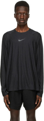 Nike Black Long Sleeve Pro T-Shirt