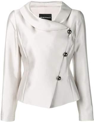 Emporio Armani side button blazer