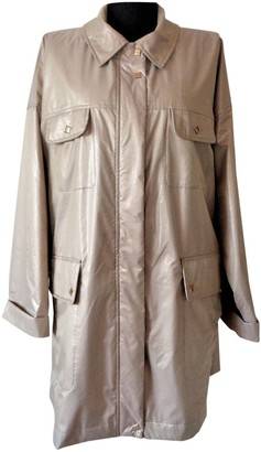 MCM Beige Polyester Trench coats