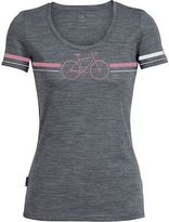 Icebreaker Tech Lite Fixie Scoop Neck Shirt - Short-Sleeve - Women's Gritstone