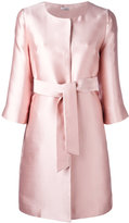 P.A.R.O.S.H. belted coat - women - Silk/Polyester - M