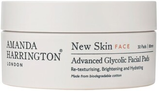 Amanda Harrington New Skin Advanced Glycolic Facial Pads (30 Pads)