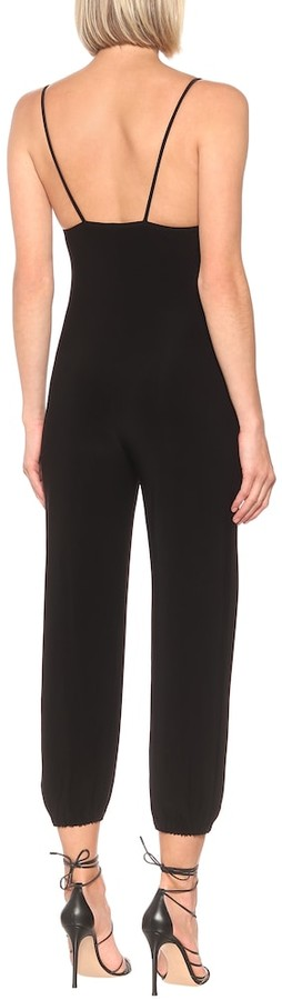 Thumbnail for your product : Norma Kamali Slip stretch-jersey jumpsuit