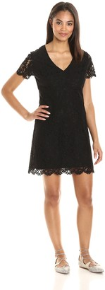 Paris Sunday Women's Short Sleeve A-Line Dress