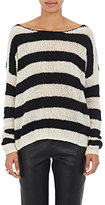 ATM Anthony Thomas Melillo Women's Striped Wool-Blend Sweater-NUDE