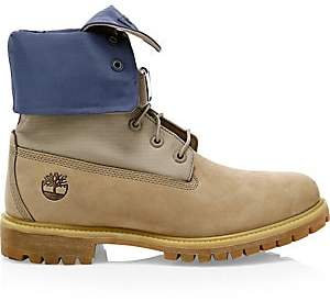 Timberland Men's Limited Release Premium Gaiter Leather Lace-Up Boots