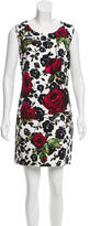 Dolce & Gabbana 2015 Rose Print Dress