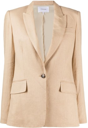 Frame Classic Fitted Blazer
