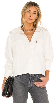 Levi's Zoey Pleat Utility Shirt