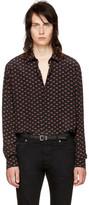 Saint Laurent Black 'Bouche' Shirt