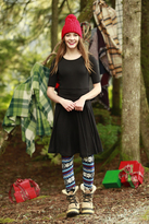 Shabby Apple Melody Black Dress