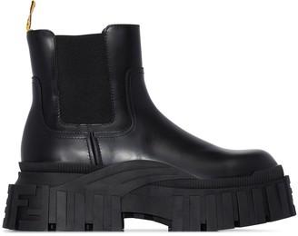 Fendi Force chunky Chelsea boots