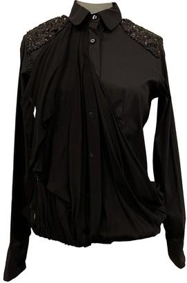 Antonio Marras Black Cotton Top for Women