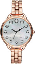 Marc by Marc Jacobs Women's Betty Rose Gold-Tone Stainless Steel Bracelet Watch 36mm MJ3515