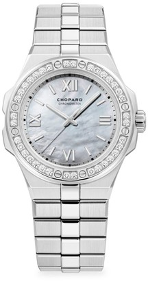 Chopard Alpine Eagle Stainless Steel & Diamond Bracelet Watch