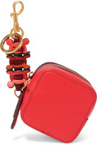 Anya Hindmarch Circulus Leather Coin Purse - Red