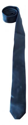 Prada Navy Silk Ties