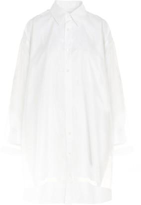 Maison Margiela Panelled Oversized Shirt Dress